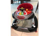 Bebe F1 Racing Car Walker - used only by 1 child in good condition