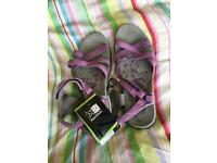 Ladies walking sandals (New)