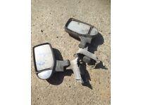 Ford transit van mk 6 pair of wing mirrors