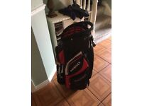 Golf bag for trolley