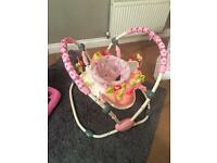 Baby girls jumperoo