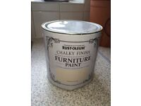 2.5 L RUST-OLEUM CLOTTED CREAM CHALKY PAINT