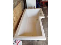 L Shaped Shower Bath Free To Good Home