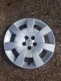 Original toyota wheel trims