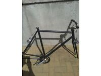 Single speed bicycle frame set (spare parts)