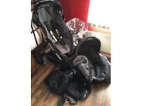 Quinny buzz stroller pushchair + accessories