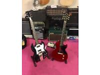Trade Gibson SG and Les Paul Junior for high end les paul