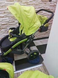 3 in 1 baby pram pushchair system Tako