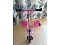 Girls Sporter Junior 3 Wheeled Scooter/ Flickr Scooter - Great Christmas Gift