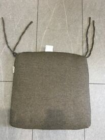 6 x HARTMAN Brown Fleck 50cm (19ins) Square Garden Chair Seat Pads - Brand New in Sealed Packaging
