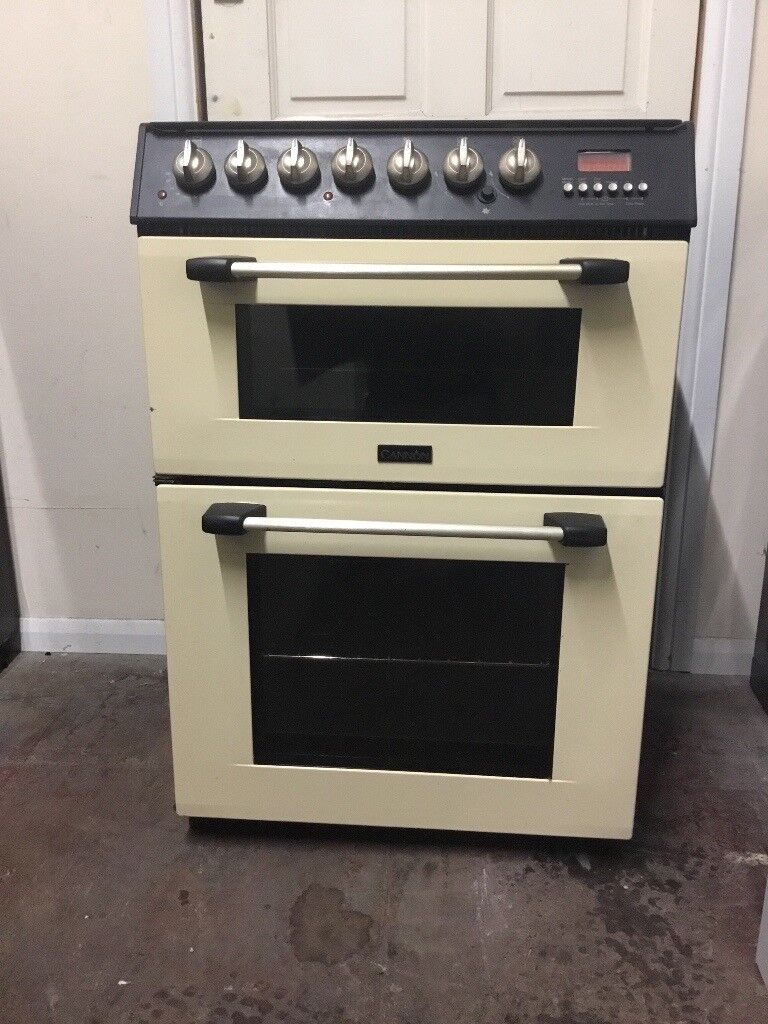 Cannon gas cooker 60cm cream double oven 3 months warranty free local delivery!!!!!!!