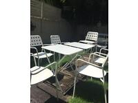 Emu garden chairs + 2 tables Rrp £665