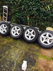 Volkswagen Sharan / passat alloy wheels 15 inch