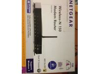 Netgear DGN1000 N150 Wireless ADSL2+ Router Modem