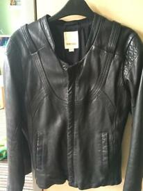 Leather jacket ladies-Diesel