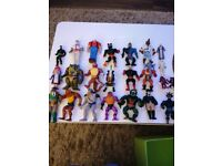 Vintage collectible action figures