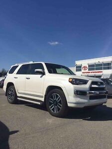2016 Toyota 4Runner Limited 4RUNNER LIMITED 2016 DEMO