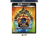 Thor ragnarok 4K - blu Ray not included