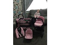 5 in 1 dolls set