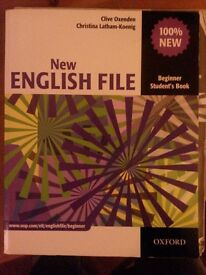 New English File Beginner Student's + CD + key Book with iTutor , Oxford