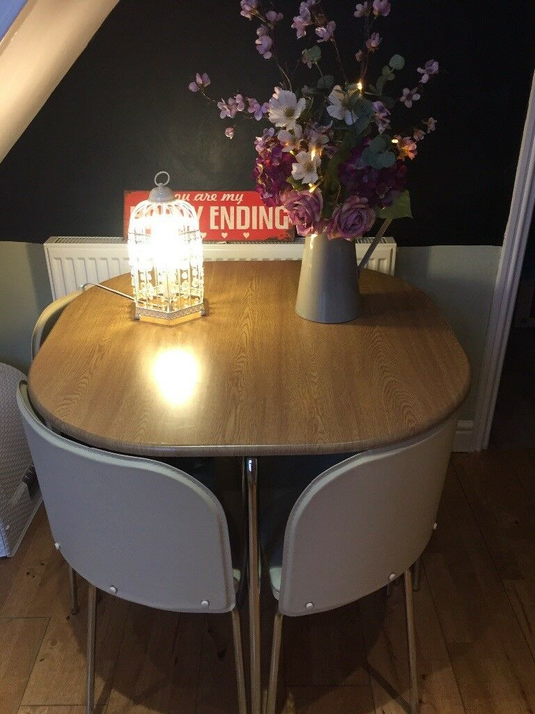 Hygena Amparo Dining Table & 4 Chairs £60