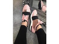 BNIB pink Balenciaga style like trainers sizes 3-8