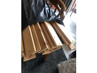 FREE - Lots of pine slats for single bed