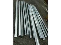 Industrial trunking new steel 300cm long 8cm wide