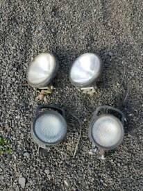 Heavy duty spotlights