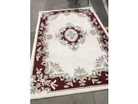 Large rug , size 235cm x 160cm Feel free to view . 100% wool rug