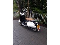 Mod retro style scooter lexmoto milano