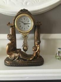 Grecian Style Mantle Clock