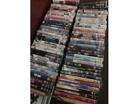 200 DVDs JOB LOT
