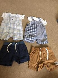 6-9 month boys clothes £6