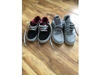 Boys Vans and Nike Trainers Size 13
