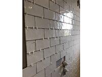 Laura Ashley White Artisan Tiles