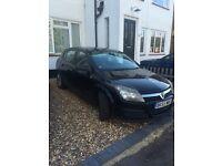 2005 Black Vauxhall Astra for sale. MOT valid until April 2017, tax until end of October 2016.