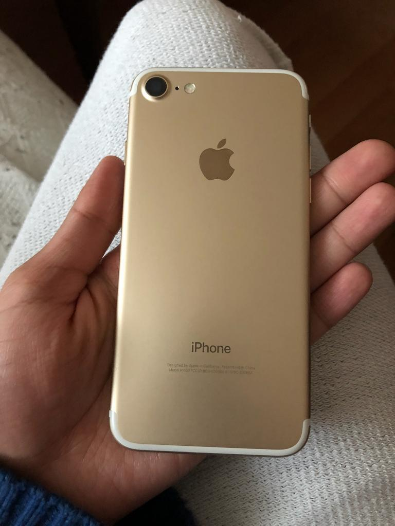 Iphone 7 256gb Gold Unlocked in Mint Condition