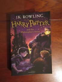 Harry Potter and the Philosopher's Stone Paperback Book, Brand New