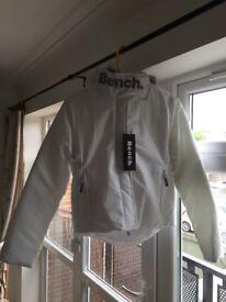 BNWT Ladies Bench Coat Size 10 Fleece Lined with Faux Fur Trim Hood, Super Warm