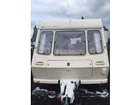 ABBEY CARAVAN GREAT CONDITION INSIDE AND OUTSIDE