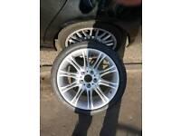BMW front wheel