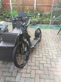 Electric downhill scooter 48v lipo 1000 watt motor 35 mph