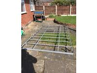 Roof rack for ford transit with all fittings