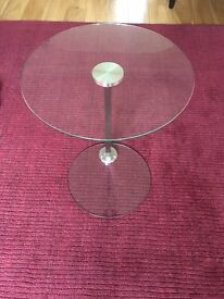 Glass Coffee Table / Side Table