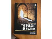The Pursuit of History By John Tosh. Sixth Edition. Excellent Condition