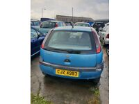 01 VAUXHALL CORSA CLUB 1.2 PETROL breaking for parts only all parts available postage nationwide