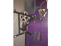 JLL IC300 Spinner/ Excercise bike used £50 cash on collection