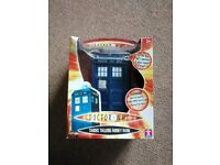 Doctor Who TARDIS Talking Money Bank - 9th Dr - Boxed - New