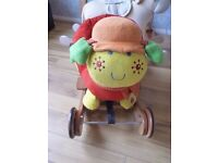 Mamas and Papas Rocking Animal Rock & Ride Lotty Ladybird Rocker & Ride On 2 in 1